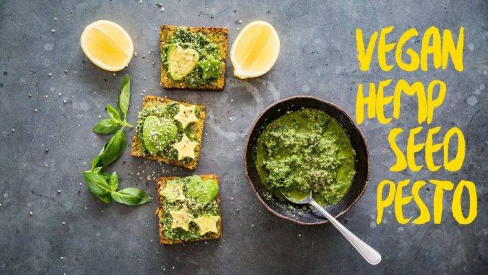 Hemp Seeds Pesto